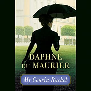 My Cousin Rachel audiobook cover art