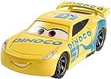 Disney Pixar Cars petite voiture Cruz Ramirez Dinoco jaune, jouet pour enfant, DXV71