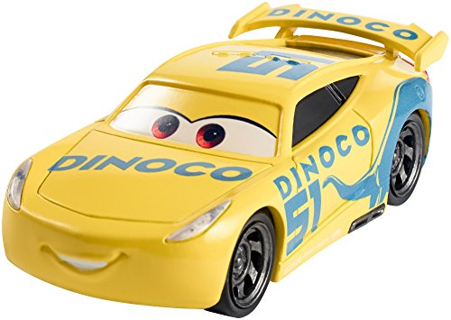 Mattel Disney Cars DXV71 Disney Cars 3 Die-Cast Dinoco Cruz Ramirez Fahrzeug