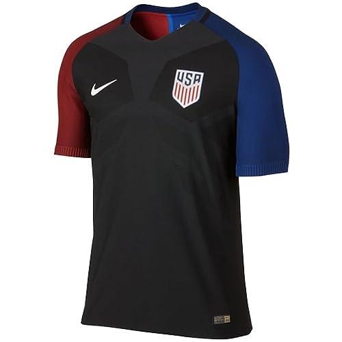 441539d49 Nike Men s USA 16 17 Away Official Match Black White Jersey
