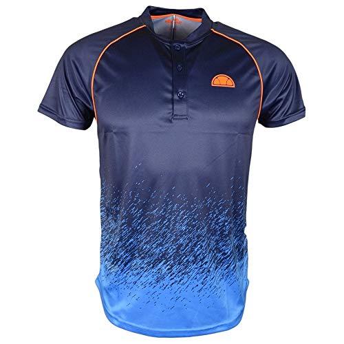 ellesse Quadro Poly Poloshirt für Herren XXL Marineblau