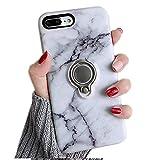Coque pour iPhone 6S Plus avec Anneau Kickstand, Misstars Ultra Slim Hybride Armour...