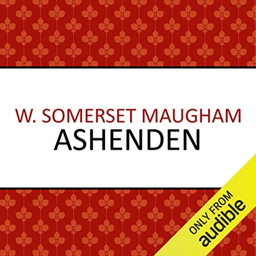 Ashenden audiobook cover art