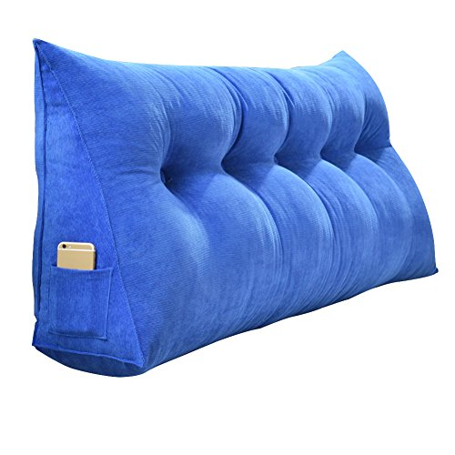 JXJJD Cojín Grande - Respaldo de la Cama sofá Suave Respaldo Grande Cama Triangular extraíble cúbica (múltiples Colores Disponibles) (Color : D, Size : 200x20x50CM)