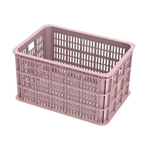Fietskrat Basil Crate large 50 liter - Faded Blossom