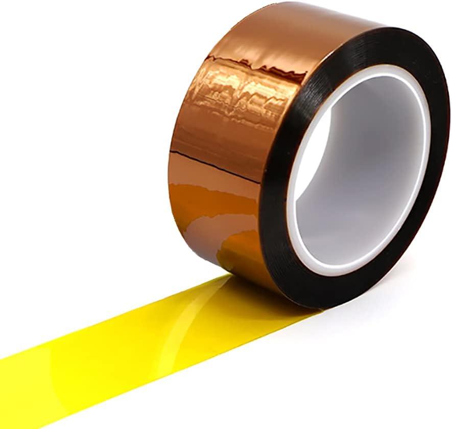 Sales 27m Heat Resistant Tape No Transfer Residue Sale price Kapton Tap