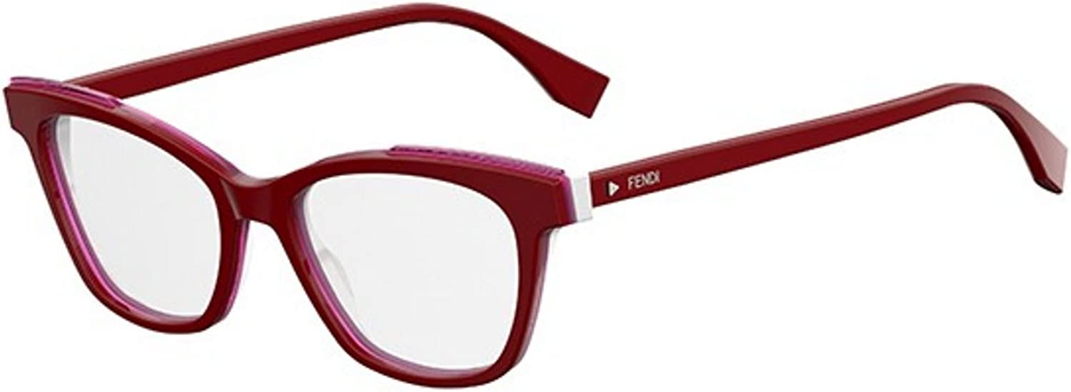 New Fendi FF 0256 OC9A Red Eye Wear