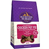 Old Mother Hubbard Mini Classic Chicken Pot Pie Biscuits Baked Dog Treats, 20 oz. (635193)