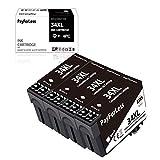 PayForLess 34 34XL - Cartucce d'inchiostro compatibili per Epson Workforce Pro WF-3720dWF, WF-3725DWF, WF-3720, WF-3725, confezione da 5 pezzi: 2 nero, 1 ciano, 1 magenta, 1 giallo