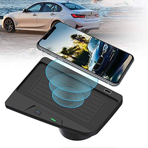 ZJYSM Cargador de automóvil inalámbrico para BMW 3 Series M3 2016-2018 4 Series M4 2018-2020 Centro de la Consola Panel de Accesorios para 320i / 328i / 328d / 330i / 340i