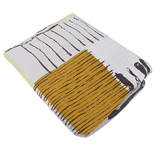 DAUERHAFT Funda de sofá de Fibra de poliéster con Costura de Cinco Cables Funda de sofá Impresa para la mayoría de los sofás para hogares con niños(Genre)