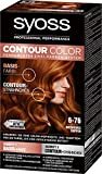 SYOSS Contour Color Stufe 3 6-76 Intensives Kupfer, permanentes Zwei-Farben-System, 1er Pack (1 x...