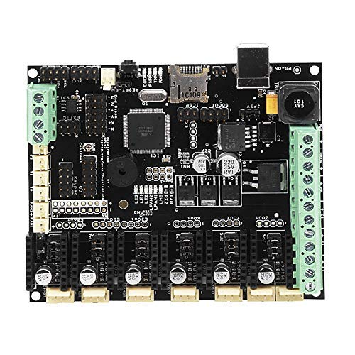 KTZAJO 3D Printer Motherboard Megatronics V3 Control Board with Welding AD597 Chip
