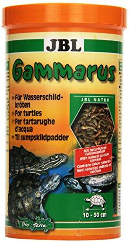 JBL Gammarus 70323 Ergänzungsfutter für Wasserschildkröten, 1er Pack (1 x 1 l)