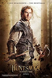 Best huntsman winters war poster Reviews