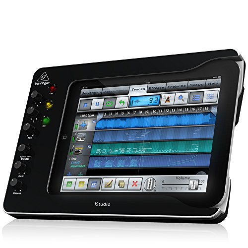Behringer iS202 - estaciones dock para móviles (Apple 30-pin, Tableta, Apple, iPad (3rd generation), iPad 2 and iPad, Negro)