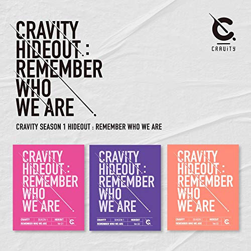 Starship Entertainment CRAVITY - CRAVITY SEASON1.[Hideout: Remember WHO WE Are] Album+Folded Poster (2 Version)
