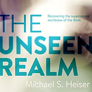 The Unseen Realm audiobook cover art