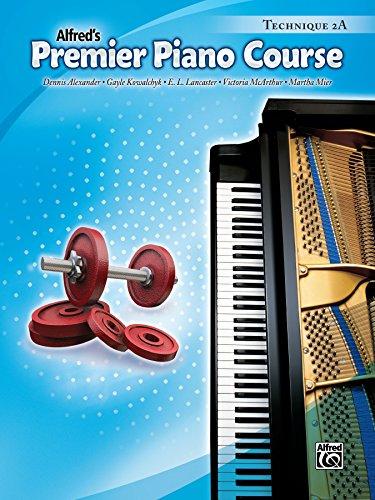 Premier Piano Course: Technique Book 2A (English Edition)