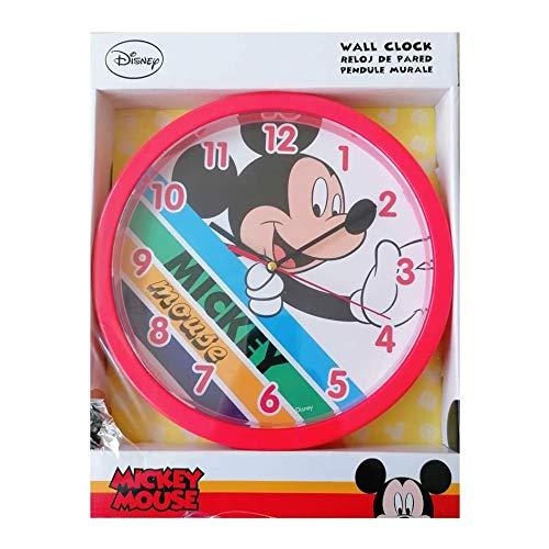 Disney KL83413 - Orologio da parete Paw Patrol, multicolore