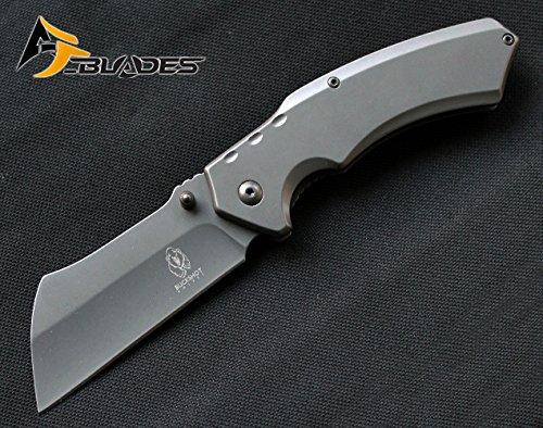 8' Titanium Grey Cleaver Razor Blade...