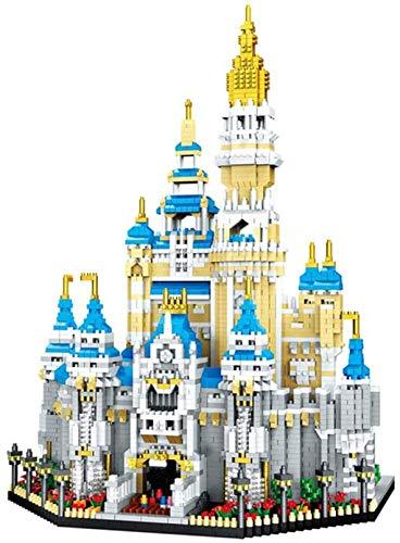 LNLJ Bloques De Construcción De Castillos para Niños 5297PCS DSN Mirco Modelo 3D Princess Castle Blocks Figuras para Juguetes para Niños