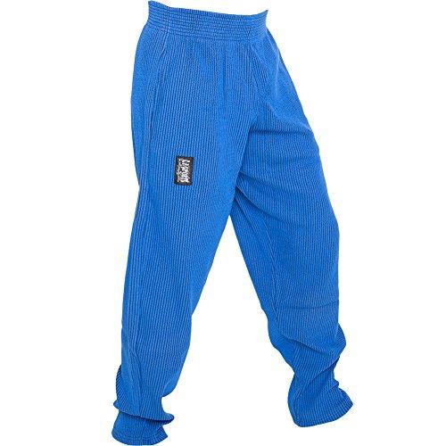 C.P.Sports S10 Pantaloni da uomo da allenamento, fitness, bodybuilding, jogging, Blau, XL = 8