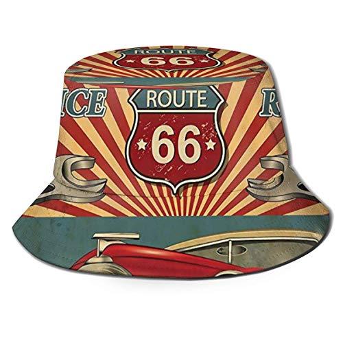 Out GuoAiYunShop - Sombrero de pescador, estilo vintage, póster retro, para hombre, protección UV, para pesca, camping, playa, color negro