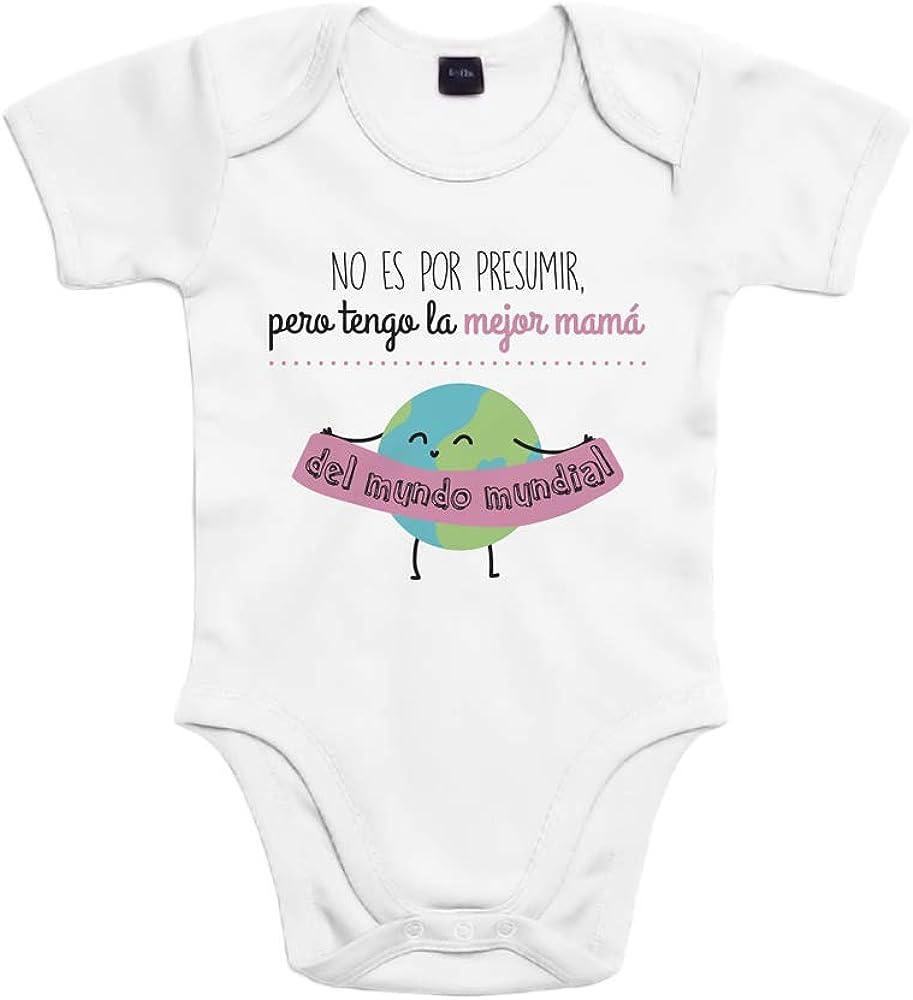 SUPERMOLON 6947 Body, Blanco, 6 Meses Unisex bebé