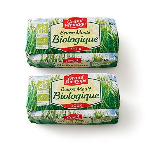 2個セット 有機バイオバター グラスフェッドバター 無塩バター