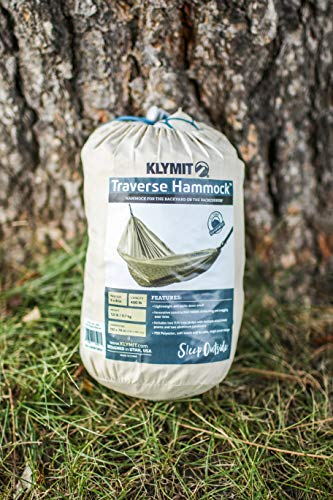 Klymit Traverse Double Hammock, Tan_Teal
