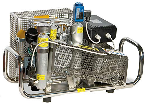 HTD AtemluftKompressor 300 Bar 100 l/min 300 bar E-Motor 220 Volt Edelstahlgehäuse