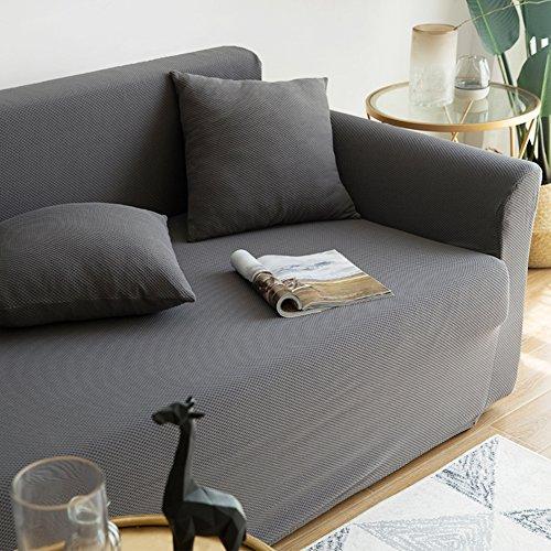 Sofá de algodón cubierta protector,Sofá fundas,Universal Funda de sofá para sala de estar Cuatro…