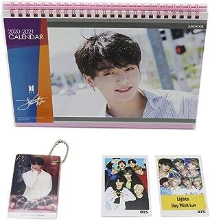 BTS Jungkook Desk Calendar with Key Ring, Photo Cards (Jungkook)