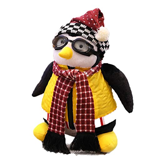 Tylyund Peluche Cute27 Cm Penguins Around Friends Giocattoli di Peluche Friends Hugsy Serious Fashion Cute Penguins Giocattoli di Peluche Rachel Bambole di Pezza Giocattoli