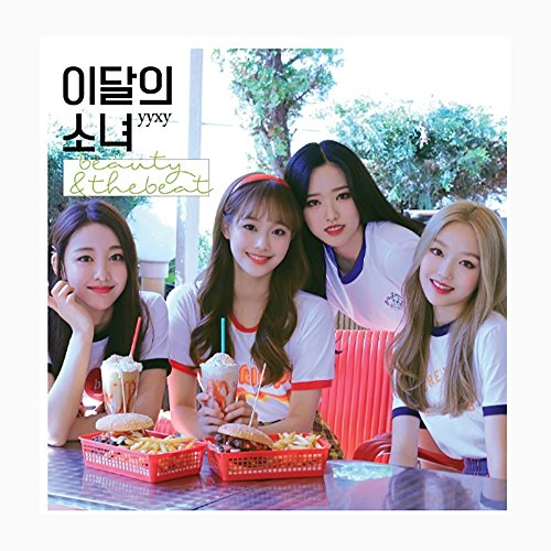 Monthly Girl Loona - yyxy [beauty & thebeat] Limited Edition CD+Photobook+Random Card(On pack)+Pre-Order Gift Folded Poster