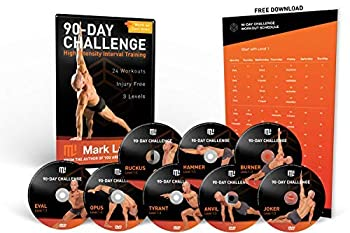 MARK LAUREN Workout DVD - Bodyweight 90-Day Challenge | Total Fitness Bodyweight Exercise Program