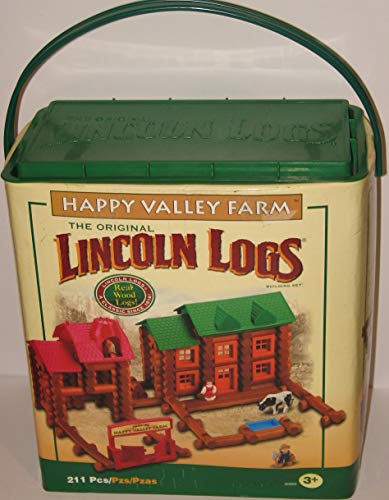 K'NEX Lincoln Logs Happy Valley Farm -...