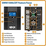 Photo #6: Tripp Lite UPS Battery Backup Surge Protector w/ LCD Display, 10-Outlets [OMNI1500LCDT]