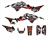 TRX 250 R Graphics Decal kit 1986-1989 by Allmotorgraphics NO2500 Red