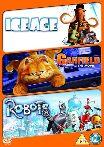 Animated Fun Triple (robots/ice Age /garfield The [UK Import]