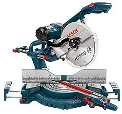 Bosch 5312 12-Inch Dual Bevel Slide Compound Miter Saw - Power Miter Saws