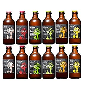 北海道麦酒フルーツビール300mL6種類×2本 飲み比べ 12本セット