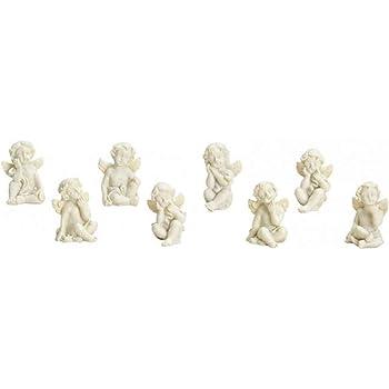 Soggetto 8 pz Angeli Geschenkestadl Set di Decorazioni da tavola