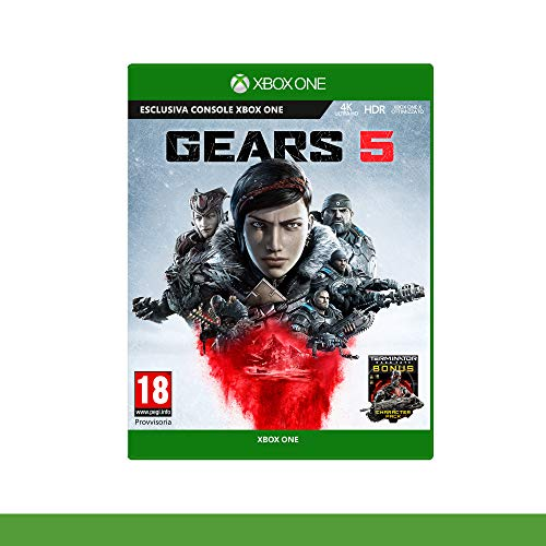 Gears of War 5 Edizione Standard, Pegi 18, Xbox One, 4K UKTRA HD,...