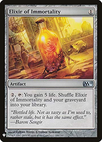 Magic: The Gathering - Elixir of Immortality - Mystery Booster - Magic 2011