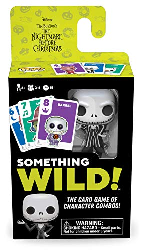 Board Games 48722 Signature Something Wild Card Game-Nightmare Before Christmas - Juego de Cartas, Multicolor