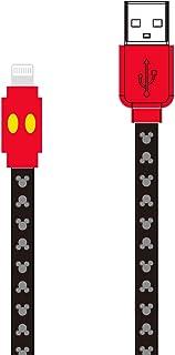 グルマンディーズ ディズニーキャラクター/Lightning対応同期&充電ケーブル ミッキーマウス dn-527a