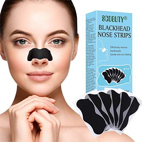 Cerotti Punti Neri,Strisce per punti neri,Strisce per la pulizia profonda dei pori del naso per la rimozione dei punti neri