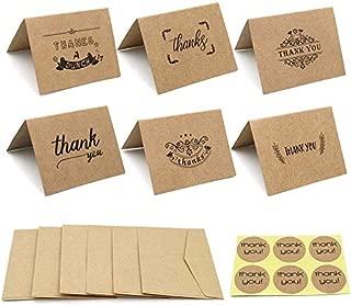 18枚セット 感謝カード グリーティングカード メッセージカード バレンタインデーカード ありがとうカード ミニ カード封筒 挨拶状封筒 thank you ステッカー